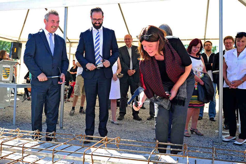 Für den Komplex wurde jetzt der Grundstein gelegt, Ende 2017 sollen die Bauarbeiten dann abgeschlossen sein.