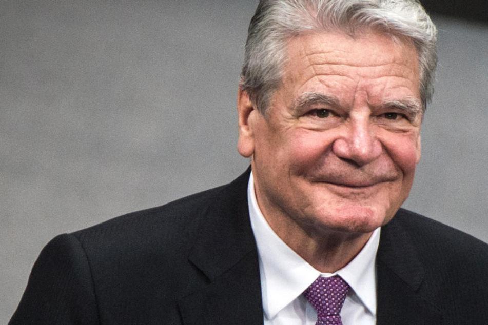 Der ehemalige Bundespräsident Joachim Gauck im Berliner Bundestag.