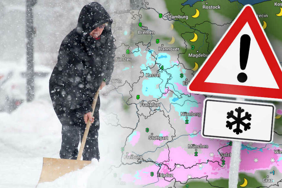 Jetzt kommt die Mega-Schneewalze: 20 Zentimeter Neuschnee möglich!