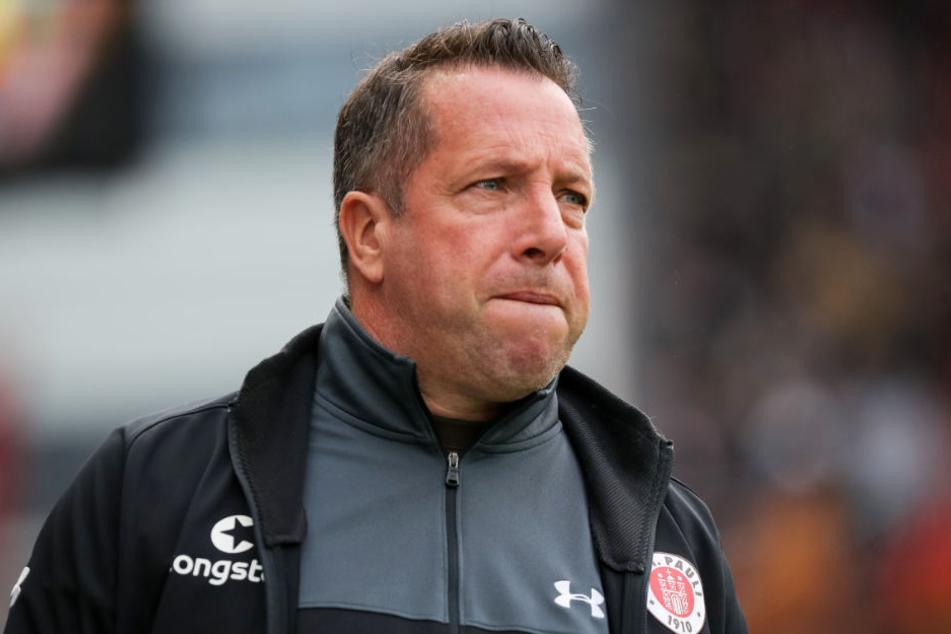 St. Paulis Trainer Markus Kauczinski hat vor dem Spiel gegen Dresden große Personalprobleme.