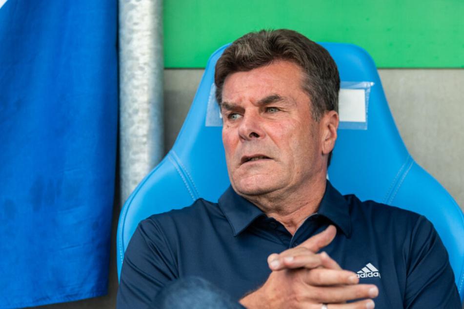 HSV-Trainer Dieter Hecking sieht noch viel Potenzial in seiner Mannschaft.