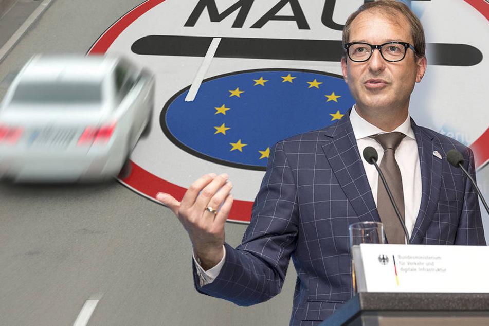 """Bundesverkehrsminister Alexander Dobrindt (46, CSU) gegrüßt die eventuell """"Klarheit"""", die das Urteil bringen soll."""