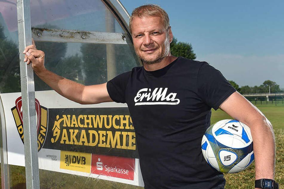 Jan Seifert leistet als Chef der Dresdner Nachwuchsakademie gute und auch erfolgreiche Arbeit.