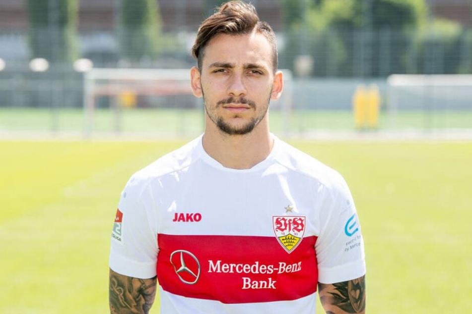 Wohl nicht mehr lange beim VfB: Anastasios Donis.
