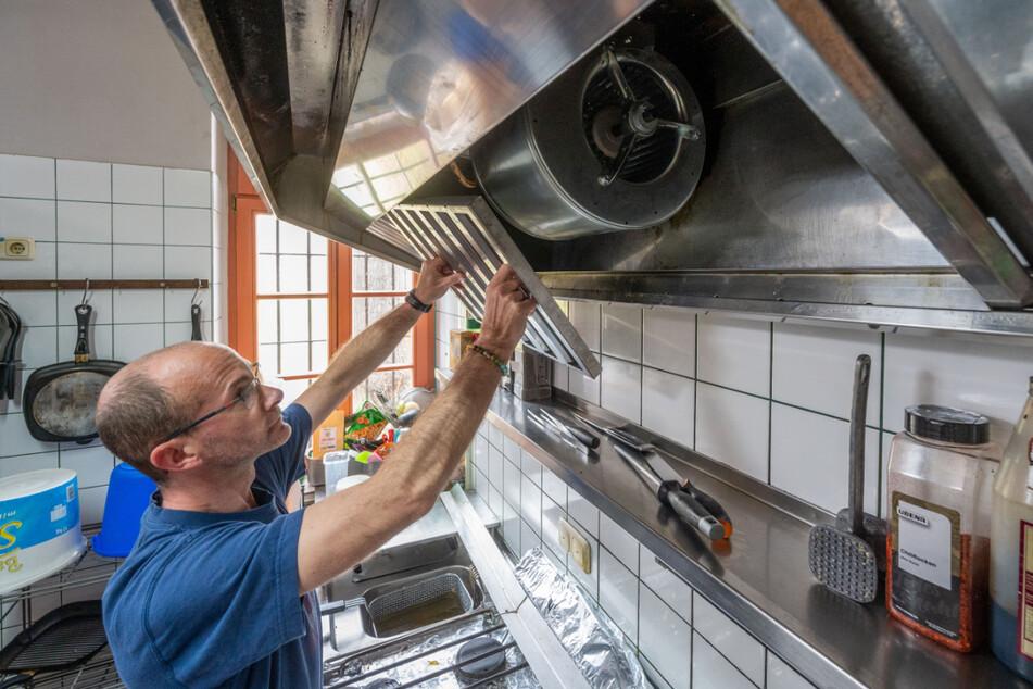 Erst vor Kurzem investierte der 46-Jährige in eine brandneue Küchen- und Kühltechnik.