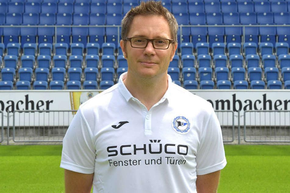 Seit 2012 ist Dr. Andreas Elsner Mannschaftsarzt bei Arminia Bielefeld.