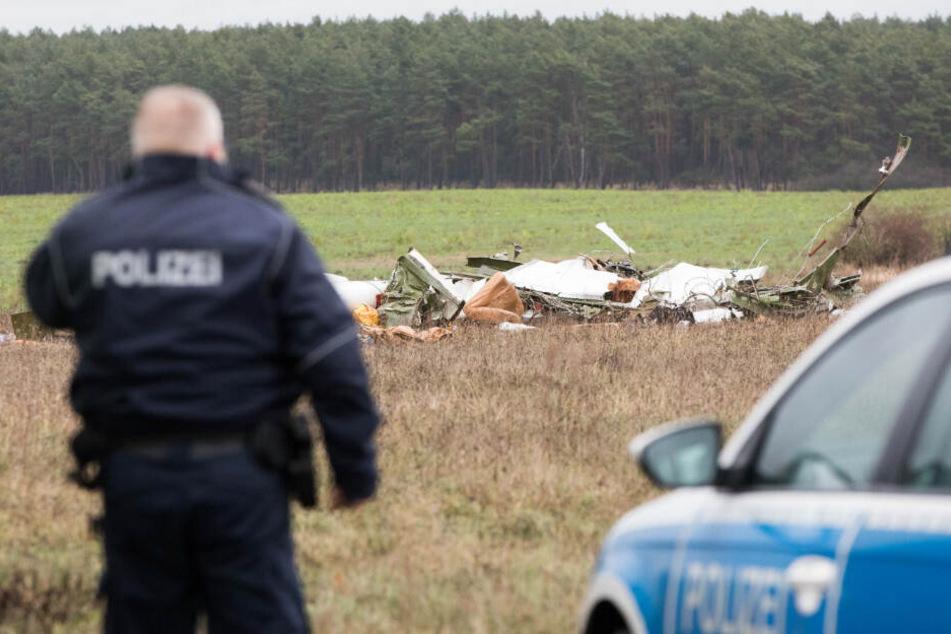 Zwei Menschen bei Flugzeugabsturz in Brandenburg ums Leben gekommen