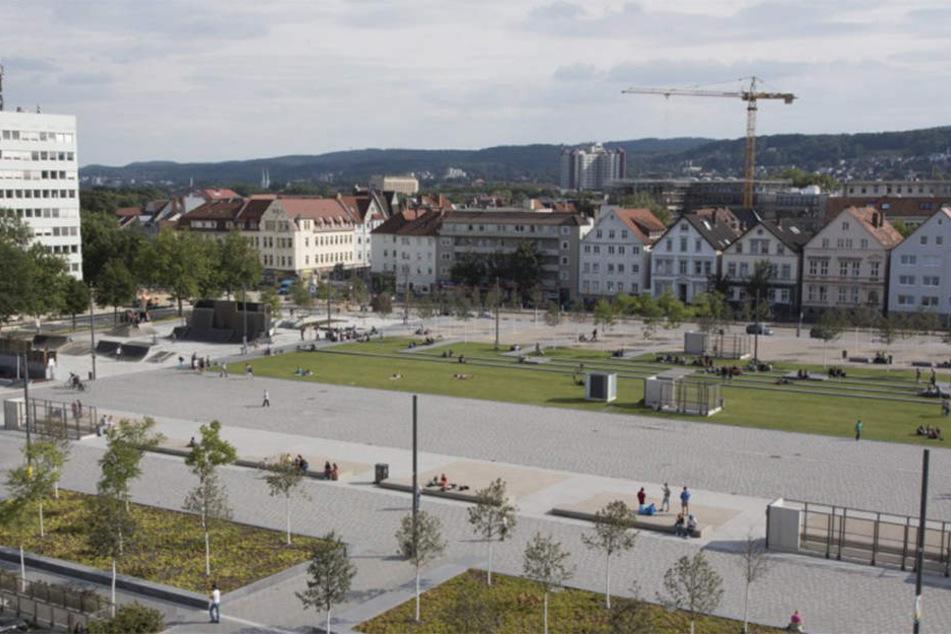Der Kesselbrink wurde Schauplatz einer großen Drogen-Razzia der Polizei Bielefeld.