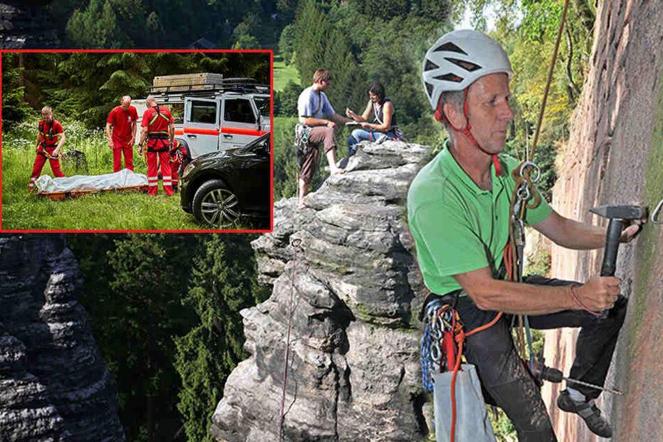 Schon vier Tote in dieser Saison! Ist das Klettern in der Sächsischen Schweiz noch sicher?