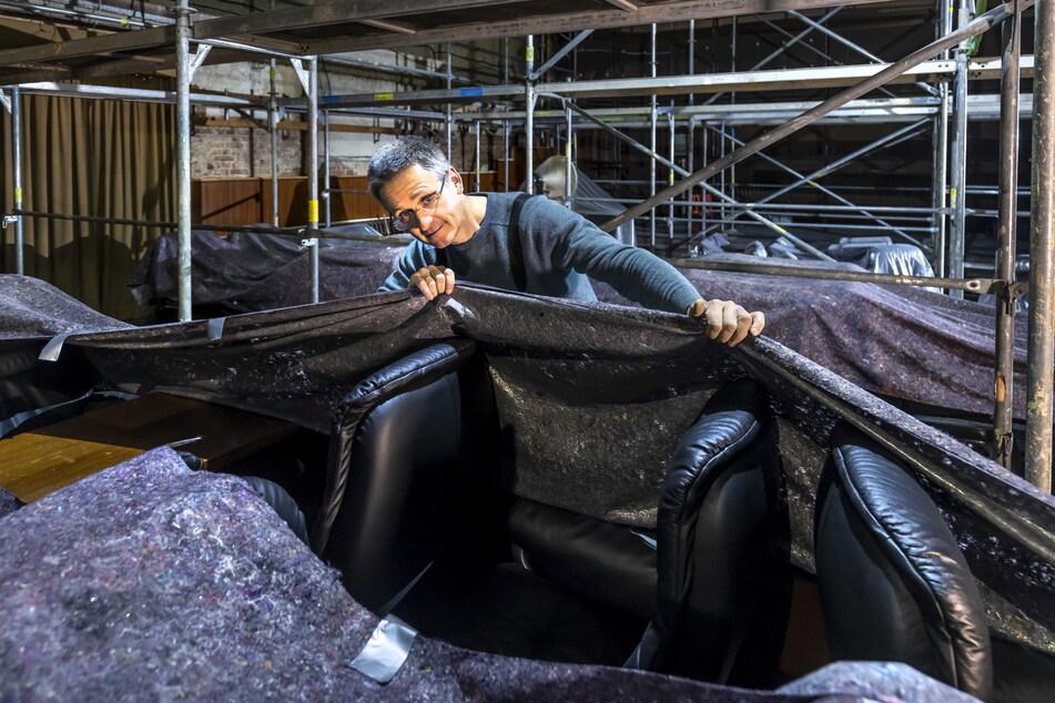 Sven Kruppa (49) freut sich schon darauf, das neu renovierte Clubkino zu präsentieren.