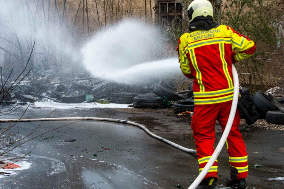 Die Feuerwehr musste zu einem Großeinsatz ausrücken.