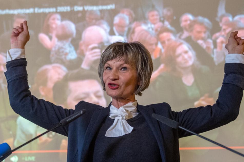 OB Barbara Ludwig (57, SPD) freut sich über die Entscheidung der Jury. Sie ist optimistisch, dass Chemnitz im Herbst 2020 zur Europäischen Kulturhauptstadt 2025 ernannt wird.