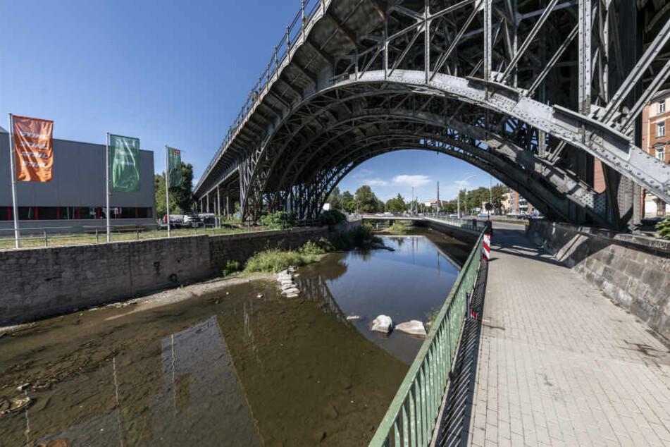 Am Chemnitz-Viadukt wird nach Ideen zur Gestaltung des Umfeldes gesucht.