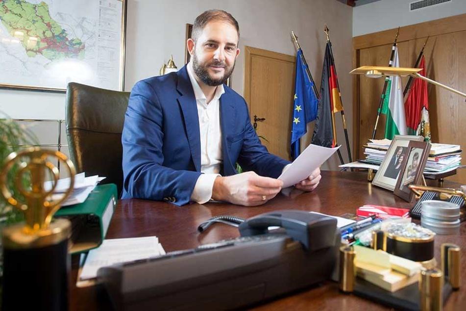 LO-Oberbürgermeister Jesko Vogel (43, Freie Wähler)