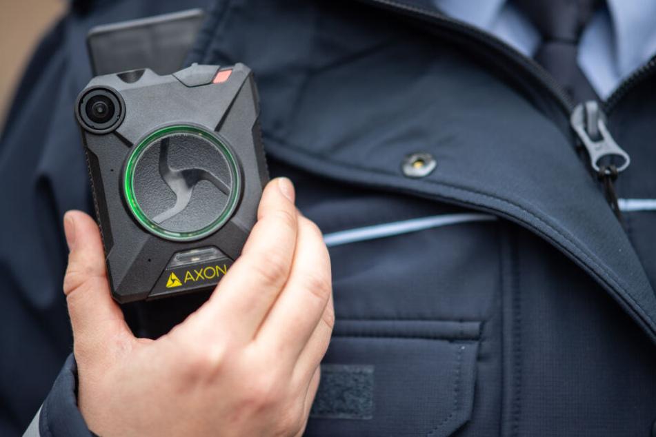 Die Bodycams werden in Deutschland immer häufiger eingesetzt.