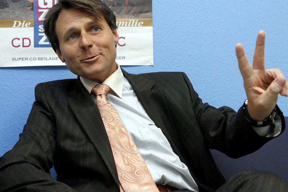 Wolfgang Bahro am Set im Jahr 2007.