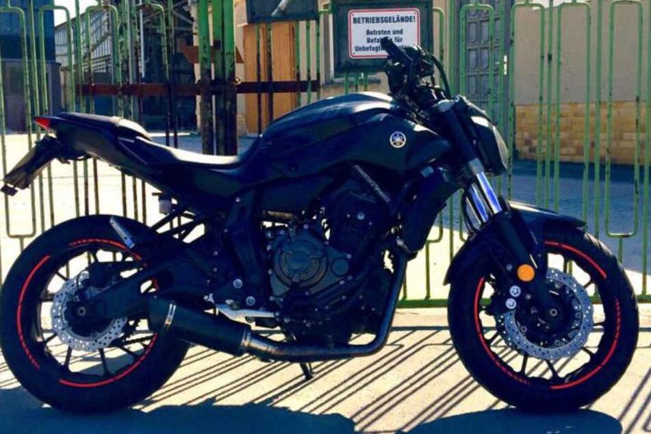 Die schwarze Yamaha hat einen Wert von zirka 6500 Euro.