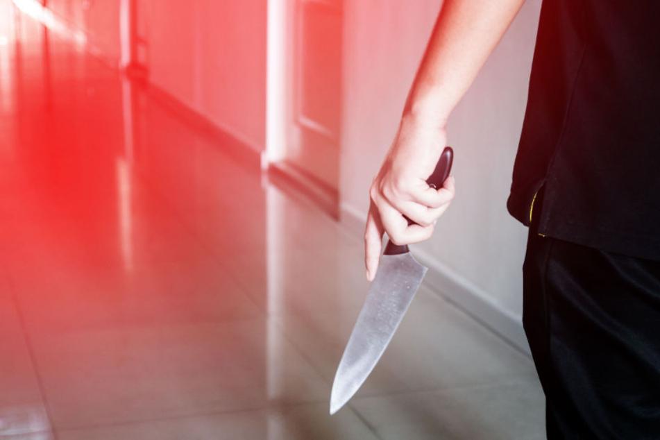 Der Sohn hatte seinen Vater mit einem Messer erstochen. (Symbolbild)