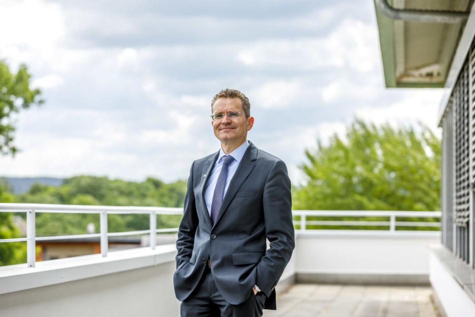 Treibt den Umbau voran: Sven Hutt, Landesgeschäftsführer der IKK Classic.