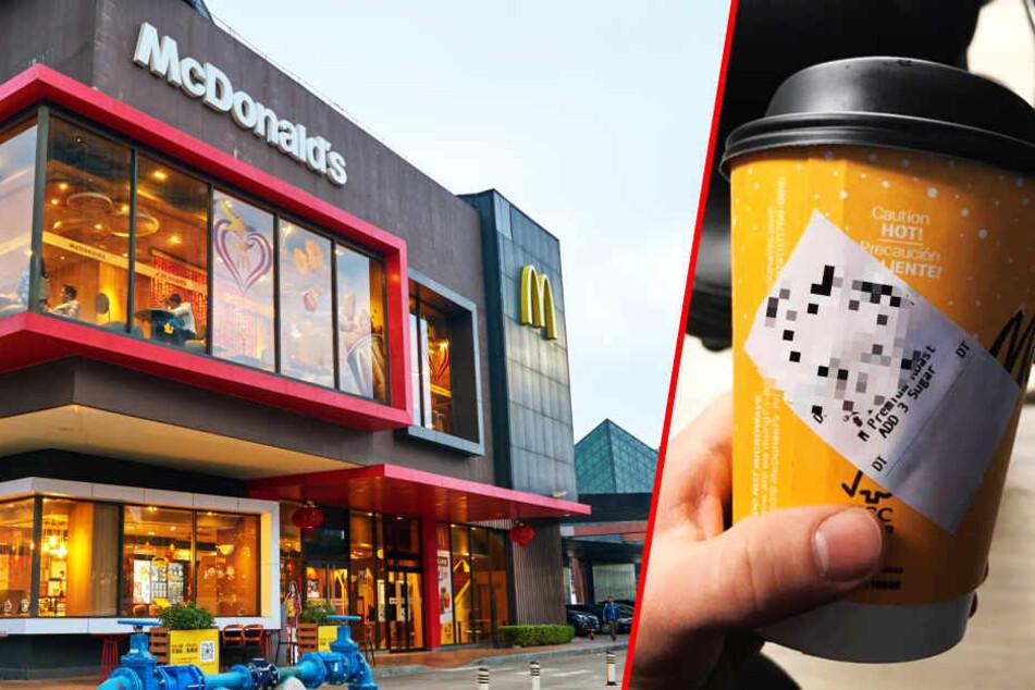 Polizist wird bei McDonald's wüst beleidigt: Unternehmen reagiert verkehrt