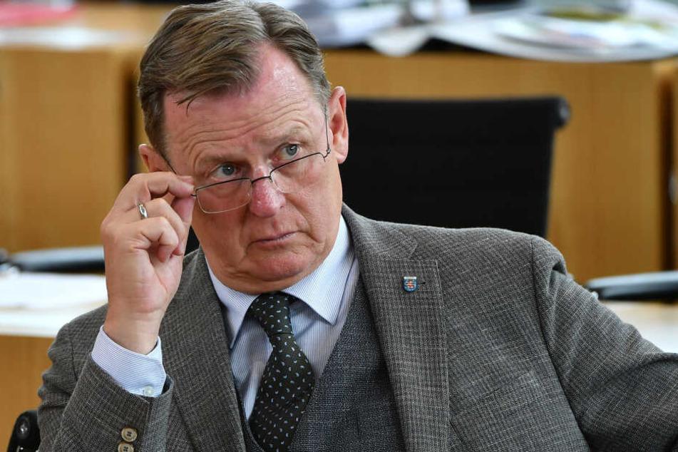 Bodo Ramelow führt mit seiner Partei noch bei den Umfragen vor der Landtagswahl.