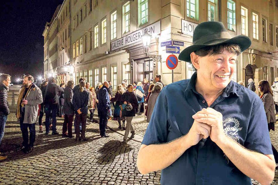 Wie sichert Holger John die Werke der millionenschweren Künstler?