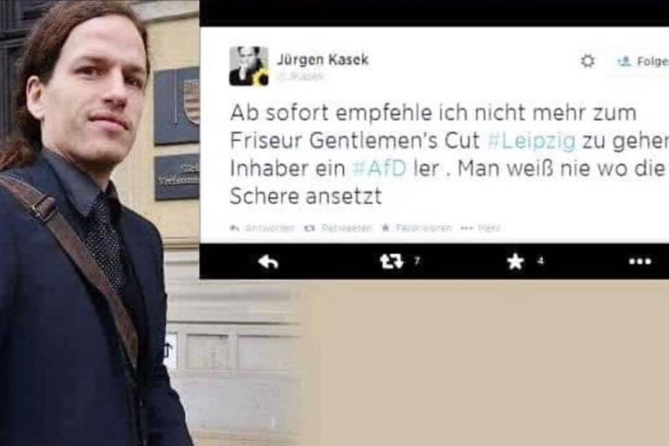 Auch 4 Jahre danach: Jürgen Kasek hat Ärger wegen Twitter-Post