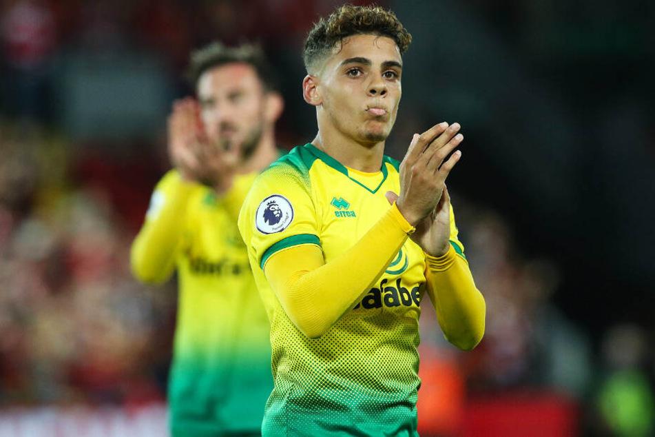 Max Aarons soll das Interesse von Borussia Dortmund geweckt haben.