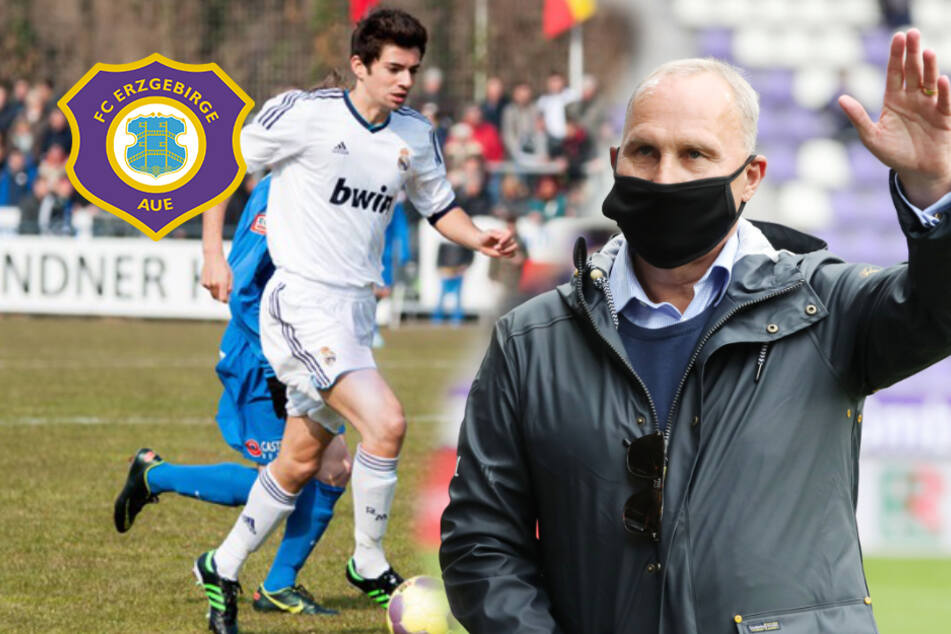 Aue-Boss Leonhardt plant Transfer-Coup: Sohn von Zinédine Zidane vor Wechsel zum FCE!