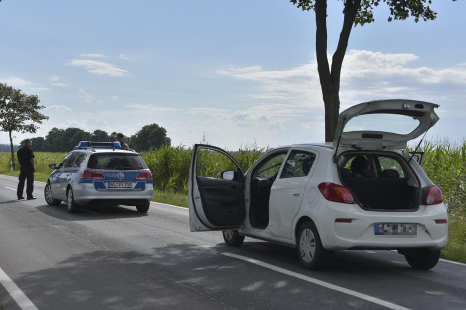 Nach dem Einsatz verfolgte der Mann die Polizisten mit seinem Auto und rammte den Streifenwagen.