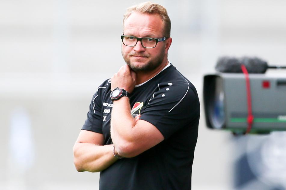 Germania-Coach Danny König setzte auf eine kompakte Defensive.