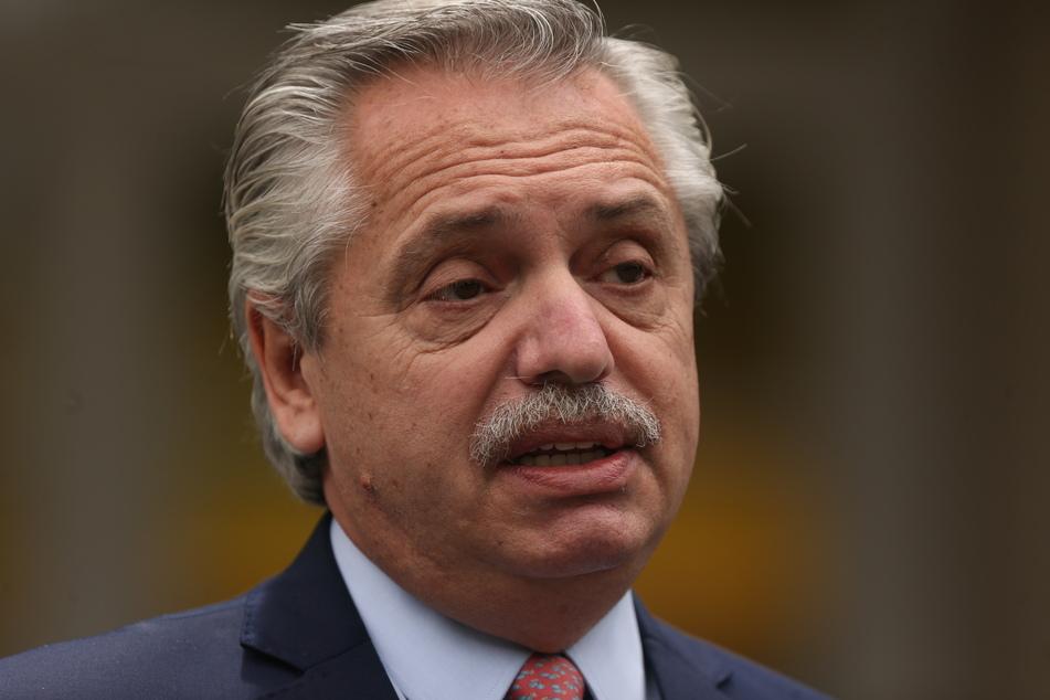 Alberto Fernandez (62), argentinischer Präsident.