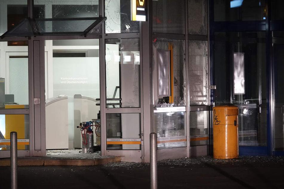 In Chemnitz wurde wieder ein Geldautomat gesprengt.