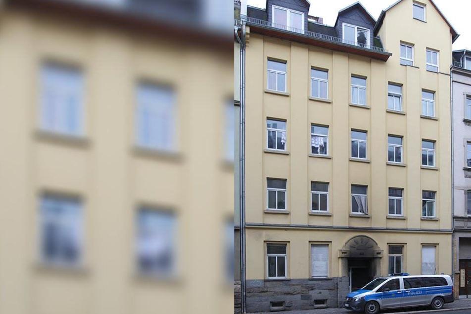 Bei einem Brand in Plauen wurden vier Menschen schwer verletzt.