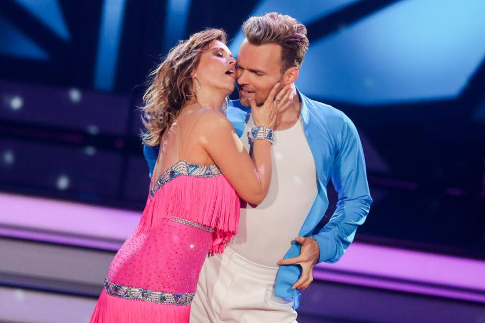 Tina Ruhland konnte mir ihrem Tanzpartner Vadim Garbuzov die Zuschauer nicht überzeugen.
