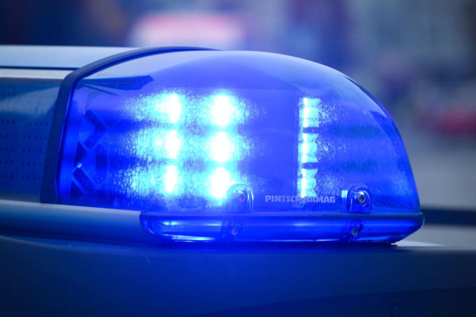 Bei dem Unfall wurden zwei Polizisten verletzt.