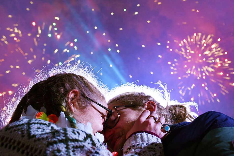 Hunderttausende werden wieder gemeinsam das neue Jahr feiern.