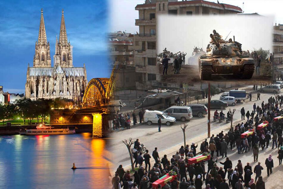 Nach der Militäroffensive der Türkei gegen kurdische Milizen ruft der Dachverband der Kurden in Deutschland am Samstag zu einer Großdemo nach Köln auf.