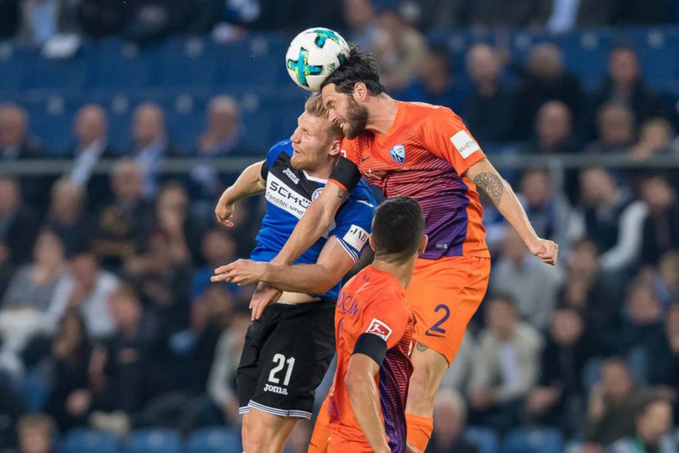 Arminia Bielefeld setzte den VfL Bochum ständig unter Druck.