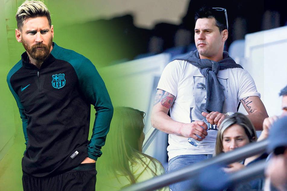Matías Messi (35, re.) gilt als schwarzes Schaf der Familie. Erst im August hatte er mit einem Autounfall für Aufregung gesorgt. Fußball-StarLionel Messi (30, li.)
