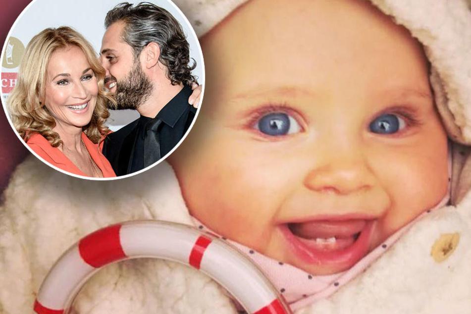 Zuckersüß: Baby Ava zeigt ihre zwei Zähnchen und die Fans schmelzen dahin