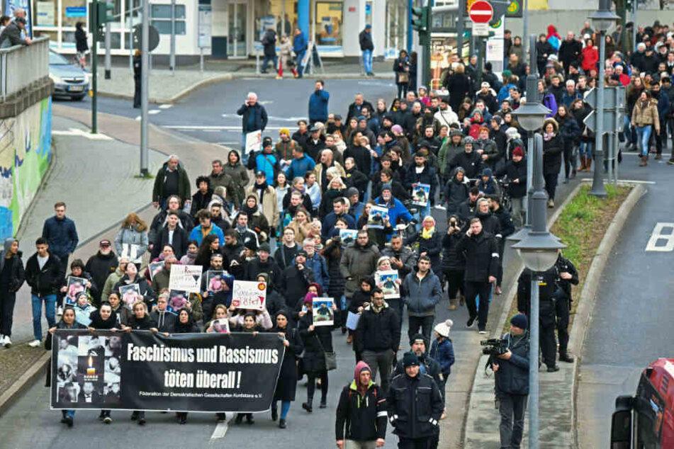 Nach rechtsextremem Terror-Anschlag: Heute Demo gegen Hetze in Hanau