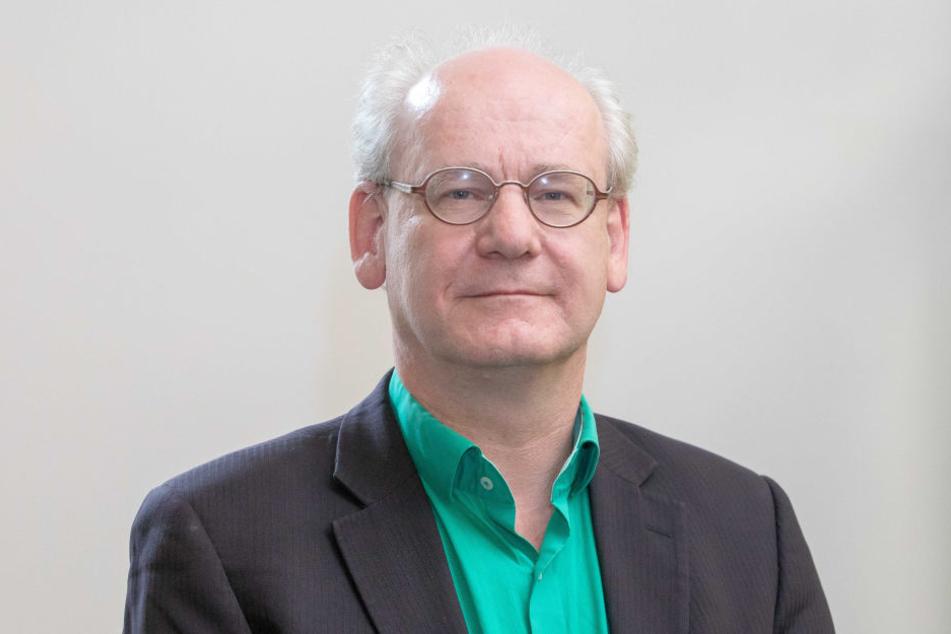 Will einen sicheren und ausreichend großen Radweg: Johannes Lichdi (54, Grüne).