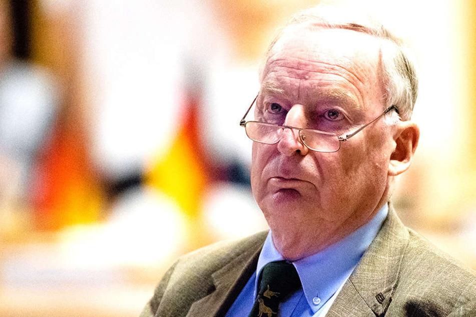 Alexander Gauland stand auf dem Bundeskongress der Jungen Alternative im Blickpunkt.