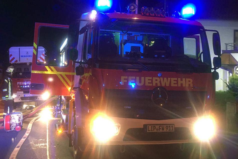 Es waren insgesamt 46 Einsatzkräfte bei dem Kellerbrand vor Ort.