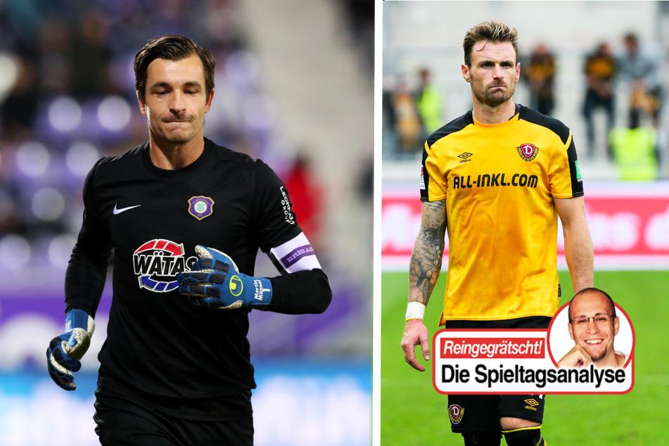 Dynamo mit drei Pleiten in vier Spielen, Aue vom Pech verfolgt, BAK trumpft auf!