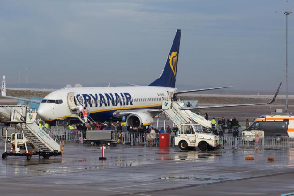 Der Frankfurter Flughafen ist lahmgelegt!