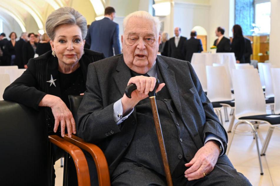 Carl Herzog von Württemberg und seine Frau Diane Francoise Maria da Gloria Herzogin von Württemberg.