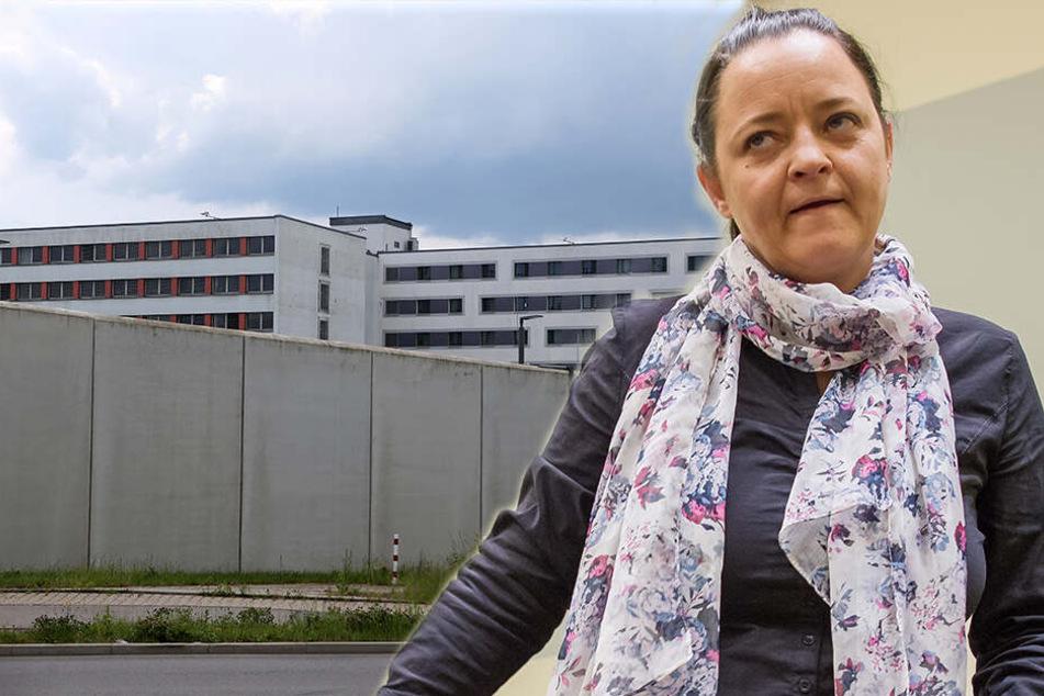 Terroristin Zschäpe ist wieder in Sachsen