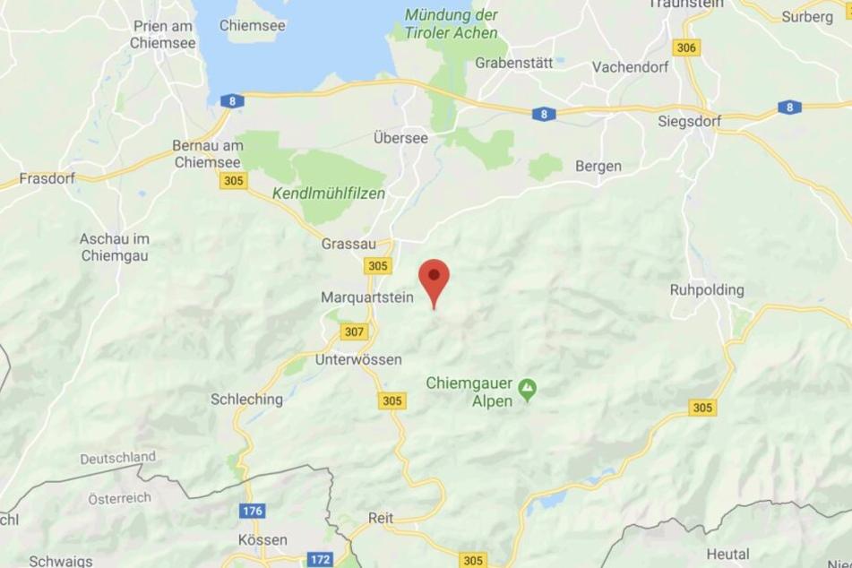 Die junge Frau verunglückte am Hochlerch in den Chiemgauer Alpen.